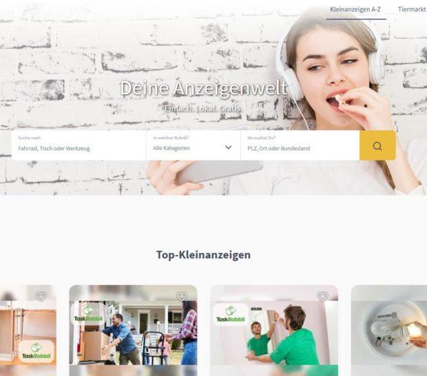 DHD24 Startseite (Screenshot)
