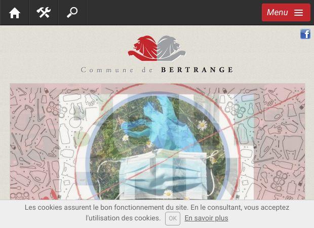 Screenshot: Homepage Gemeinde Bartringen