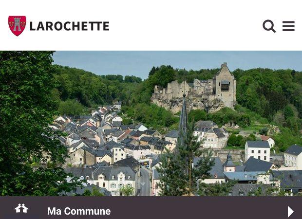 Screenshot: Homepage Gemeinde Fels