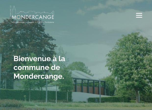 Screenshot: Homepage Gemeinde Monnerich