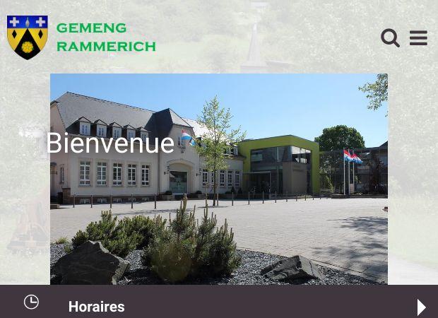 Screenshot: Homepage Gemeinde Rambruch