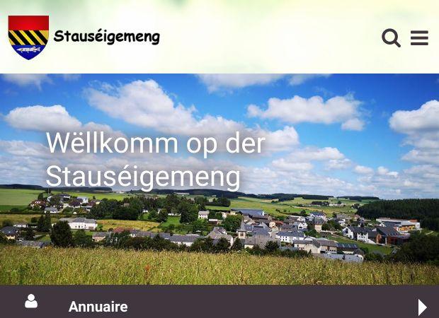 Screenshot: Homepage Gemeinde Stauseegemeinde